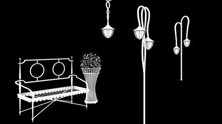 B2F迎賓車道-傢俱規範3D