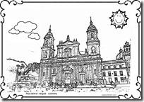 monumentos colombia colorear