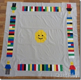 Lego play mat top