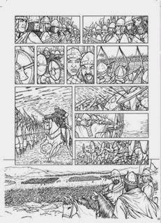 Página interior de Los Caminos del Señor, por Jaime Calderón