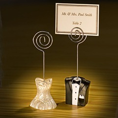 bride and groom place card holders FC5354 lg