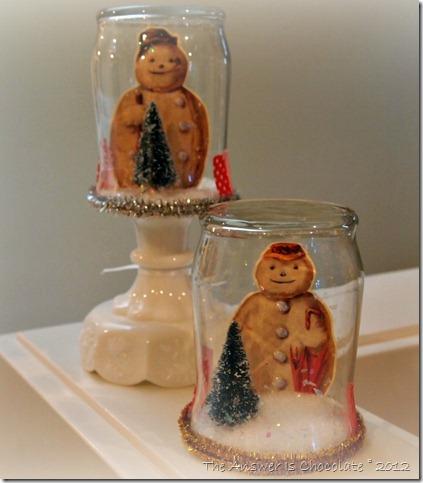 Vintage Snow Jars