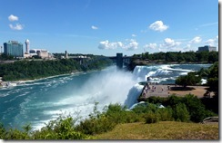 The American Falls at Niagara