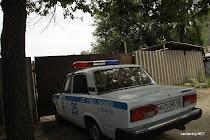 Kyrgyz police lada