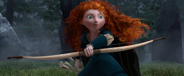 """BRAVE""<br /><br />Merida (voice by Kelly Macdonald)<br /><br />©Disney/Pixar.  All Rights Reserved."