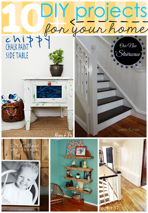 10  DIY Projects for your home at GingerSnapCrafts.com #features #diy_thumb[2]