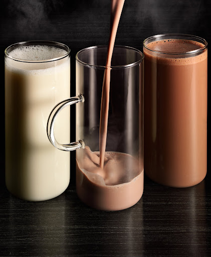A trio of hot cocoas.(Martha Stewart Living)