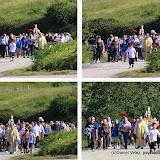 Une lente procession jusqu'au sommet