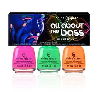 China Glaze All About the Bass Paint Splatter Nail Art Kit
