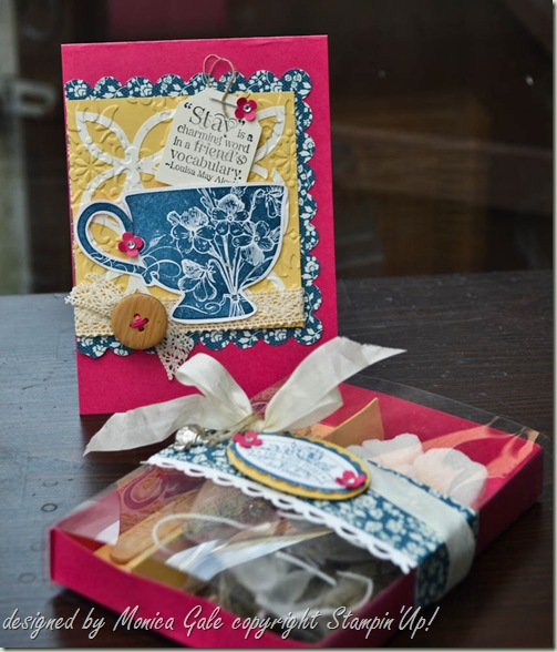 Stampin'Up! Tea Shoppe tea box_