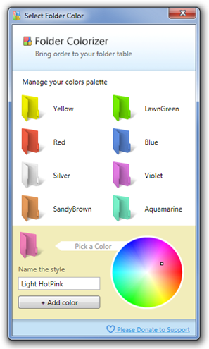 Select-Folder-Color