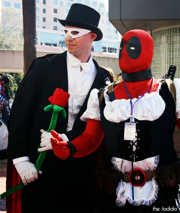 Smash! 2013 - Cosplay - Faves - Tuxedo Mask, Sailor Moon, Deadpool Maid