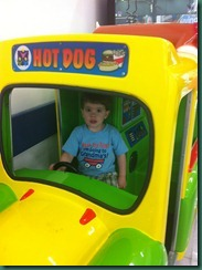 jake riding truck