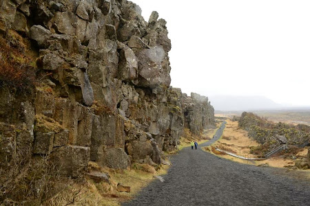 Obiective turistice Islanda: Parcul National Thingvellir