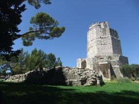 la torre Magna, Nimes