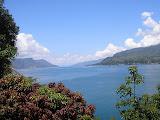A lovely view over the lake from Tuk Tuk on Samosir (Daniel Quinn, April 2011)