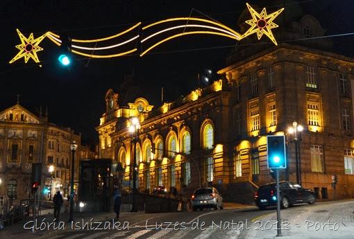 Glória Ishizaka - Luzes de Natal 2013 - Porto  12 Estação São Bento