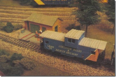 Longview, Kelso & Rainier Model Railroad Club HO-Scale Layout in 2005