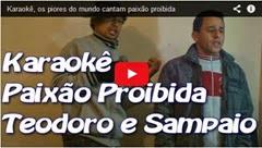 karaoke paixão proibida teodoro e sampaio