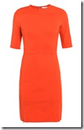 DvF Orange Dress