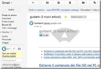 Gmail Mouse Gestures Tornare alla schermata Posta in arrivo