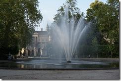 Parc de Bruxelles with Palais de la Nation