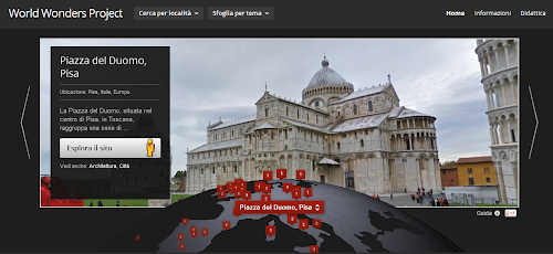 Google World Wonders Project