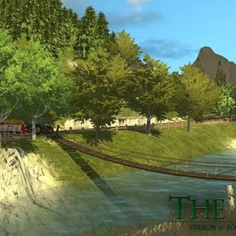 Farming simulator 2013 - The Alps v 1.5 The Great Green Valley