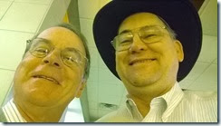 Ken Royal and Alfred Thompson selfie