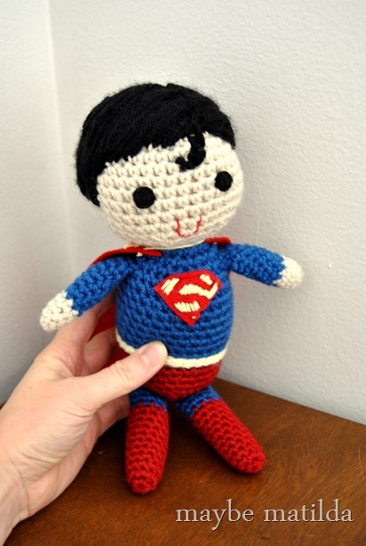 Superman Crochet