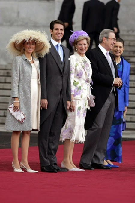 Pablo de Grecia acudió junto a su esposa, Marie-Chantal Miller,