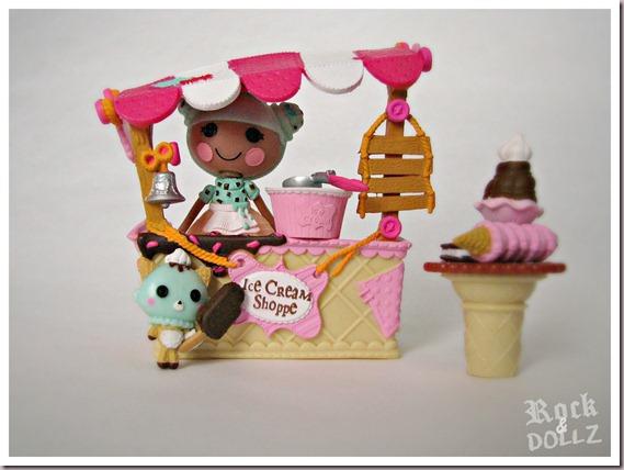 Mini Lalaloopsy Waffles Cone Scoops Serves Ice Cream 13