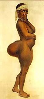 Saartjie Baartman ottentotta 1810 circa