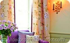 Декор мебели с помощью текстиля