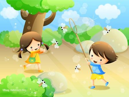 1 iunie - copii la joaca
