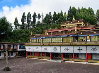 Monastereo Sikkim India