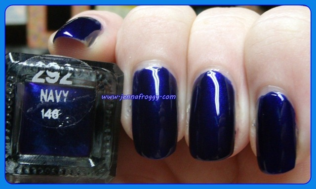Barry M Navy Label