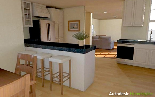 homestyler kitchen design. homestyler visualize  main 640x400 Autodesk Homestyler Online Home Design App With Realistic Rendering