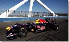Webber sul circuito cittadino di Valencia