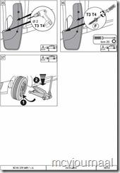 Spatlappen Dacia universeel 10