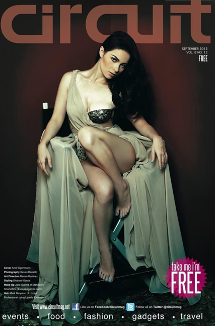 Andi Eigenmann on Circuit Sept 2012 cover