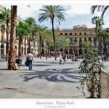Barcelona.  Plaça Reial