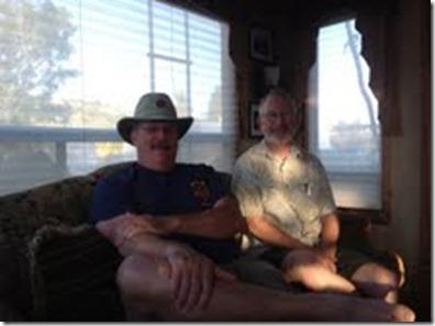 John and Harris in Camp Verde