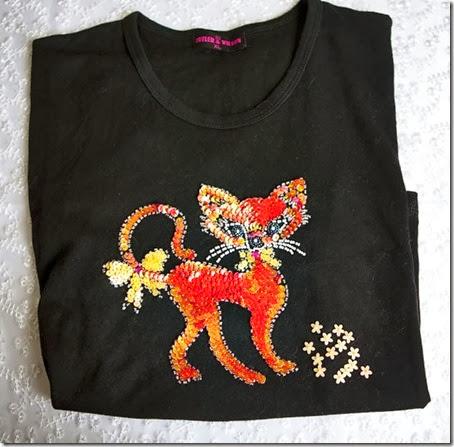 Butler & Wilson Cat tshirt1