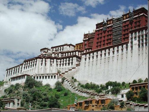 imagini Palatul Potala - Tibet