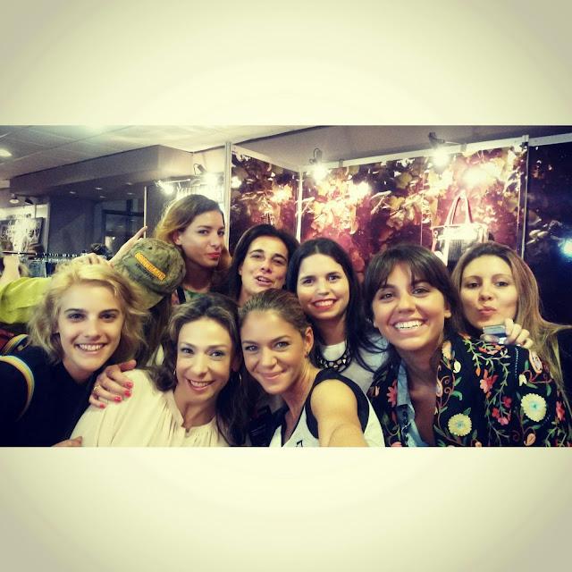 la selfie fashionista uruguaya