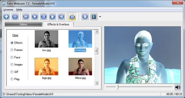 Fakewebcam_Invert