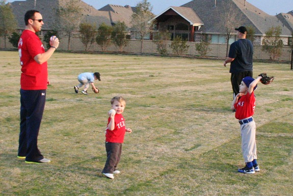 First TeeBall Practice 016