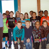 WBFJ Cici's Pizza Pledge - Piney Grove Elementary - Mrs. Laws 3rd Grade Class - Kernersville - 2-26-