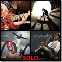 SOLO- 4 Pics 1 Word Answers 3 Letters